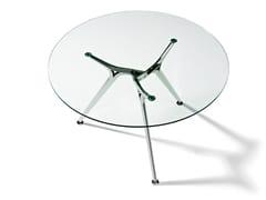Tavolo da riunione rotondo in vetroARKITEK | Tavolo da riunione in vetro - ACTIU