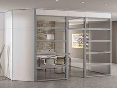 Parete mobile in vetro per ufficioTAURUS | Parete mobile in vetro - CENTRUFFICIO LORETO