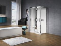 Box doccia a due posti con idromassaggio GLAX 2P 120X80 - Glax