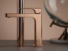 Miscelatore per lavabo da piano monocomandoGLITTER ROSE GOLD - RUBINETTERIE RITMONIO