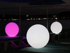 Lampada da terra per esterno a LED in plastica con sistema RGB senza filiGLOBE - SMART AND GREEN