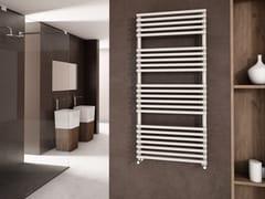 Scaldasalviette verticale in acciaio verniciato a polvere a parete GLORIA | Scaldasalviette in acciaio verniciato a polvere - Scaldasalviette