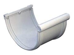 Giunto semplice bi-system per canale di gronda in PVCGN133N - FIRST CORPORATION