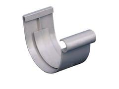 Giunto semplice da incollare per canale di gronda in PVCGNE116N - FIRST CORPORATION