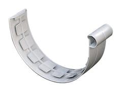 Giunto semplice per canale di gronda in PVCGNE133N - FIRST CORPORATION