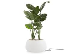 Vaso da giardino luminoso in plasticaGOBI 3 | Vaso da giardino luminoso - GANDIA BLASCO
