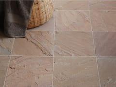 Pavimento/rivestimento in pietra naturale per interniGOLDEN RIVEN SANDSTONE - STONE AGE PVT. LTD.