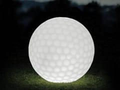 Lampada da terra per esterno a LED in plastica con sistema RGBGOLFBALL - SMART AND GREEN