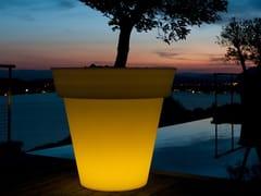 Vaso da giardino alto luminoso in plasticaGOTA - SMART AND GREEN