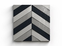 Forma&Cemento, GP 03 Mosaico con superficie tridimensionale