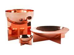 Centrotavola in acciaio inox GRAAL | Centrotavola - Accessoires