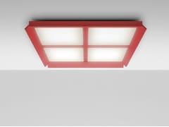 Lampada da soffitto a LED a luce diretta in alluminio GRADIAN 1200 X 1200 | Lampada da soffitto -