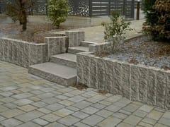 Elemento per muro di contenimento in calcestruzzoGRADUS - RB BAGATTINI