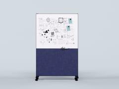 Divisorio ufficio / lavagna per ufficio in plastica riciclataGRAFO - IMPACT ACOUSTIC