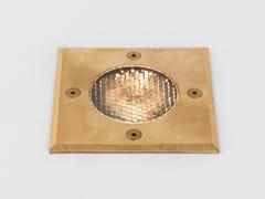 Segnapasso a LED in ottone per esterni con dimmerGRAMOS SQUARE | Segnapasso in ottone - ASTRO LIGHTING