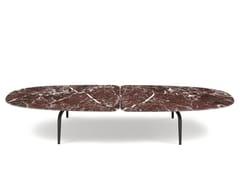Tavolino basso in marmoGRAPHIUM | Tavolino basso - ZANOTTA