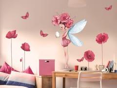 Adesivo da parete con motivi floreali per bambiniGREAT FAIRY PETRONILLE - ACTE DECO
