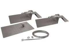 Carpenteria di fissaggio per ancoraggi di estremitàGRECA UP C - BIN SISTEMI