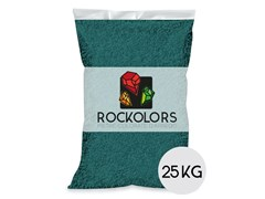 Rockolors, ROCKOLORS GREEN IS THE COLOUR Ghiaia colorata