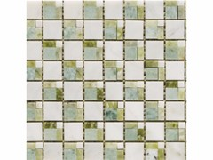 Mosaico in marmo GREENS - Classic