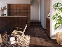 Pavimento/rivestimento in gres porcellanatoGRESAN ORIA CHOCOLATE - EXAGRES