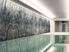 Pannello decorativo in vetro decoratoGREY MAGMA - MILLE997