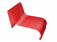Seduta da esterni in acciaioGRID 2 | Seduta da esterni in acciaio - PUNTO DESIGN