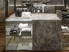 Atlas Plan, GRIGIO INTENSO Rivestimento in gres porcellanato effetto marmo