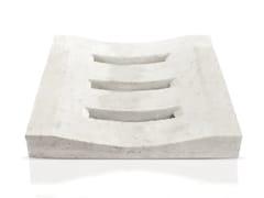 Elemento e canale di drenaggio in pietra GRIGLIA -