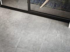 Pavimento/rivestimento in gres porcellanato effetto marmo per interni ed esterni GRIS SAVOIE - Marble