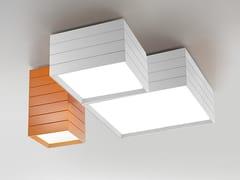 Plafoniera a LED modulare in alluminioGROUPAGE - ARTEMIDE