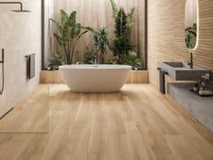 Pavimento/rivestimento in gres porcellanato effetto legnoGROW - MUSEUM