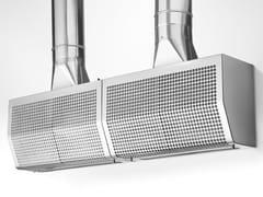 Cappa in acciaio inox con illuminazione integrataGA 20/55 - ALPES-INOX