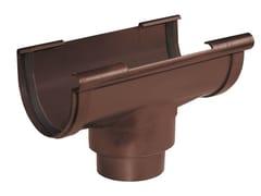 Accessorio per canale di gronda coestruso GS145M - First Plast