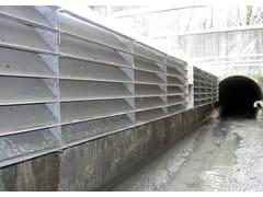 Grigliatura per scolmatori statica a deflettori lamellariGSL - BETONCABLO