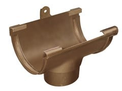 Accessorio per canale di gronda effetto ramato antico GSS125RA - First Plast
