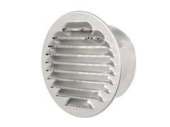 Griglia di ventilazione tonda in alluminio da incassoGTA100R - FIRST CORPORATION