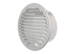 Griglia di ventilazione tonda in alluminio da incassoGTA125R - FIRST CORPORATION