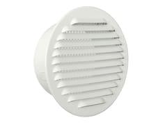 Griglia di ventilazione tonda in alluminio verniciato biancoGTA125RB - FIRST CORPORATION