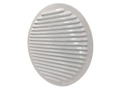 Griglia di ventilazione tonda in alluminio verniciato biancoGTA200RB - FIRST CORPORATION