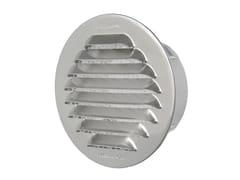Griglia di ventilazione tonda in alluminio da incassoGTA80R - FIRST CORPORATION