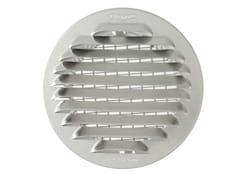 Griglia di ventilazione tonda in alluminio da incassoGTAP100R - FIRST CORPORATION