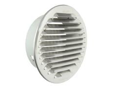 Griglia di ventilazione tonda in alluminio da incassoGTAP125 - FIRST CORPORATION