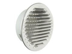 Griglia di ventilazione tonda in alluminio da incassoGTAP125R - FIRST CORPORATION