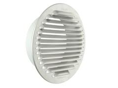 Griglia di ventilazione tonda in alluminio da incassoGTAP140 - FIRST CORPORATION
