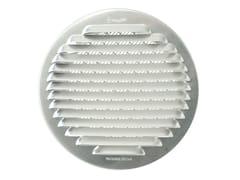 Griglia di ventilazione tonda in alluminio da incassoGTAP140R - FIRST CORPORATION