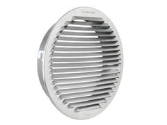 Griglia di ventilazione tonda in alluminio da incassoGTAP200 - FIRST CORPORATION