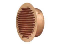 Griglia di ventilazione tonda in rame da incassoGTR140R - FIRST CORPORATION