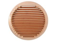 Griglia di ventilazione tonda in rame da incassoGTR200R - FIRST CORPORATION