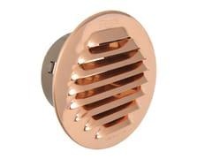 Griglia di ventilazione tonda in rame da incassoGTRP80 - FIRST CORPORATION